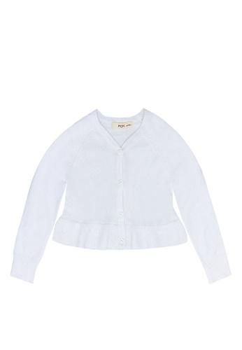 FOX Kids & Baby white Knit Cardigan 9EF3AKAEF688CCGS_1