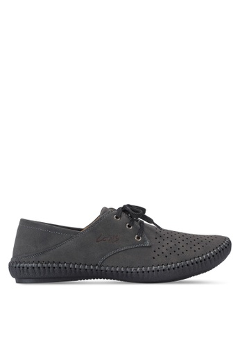 Louis Cuppers black Smart Casual Shoes LO977SH71AVOMY_1