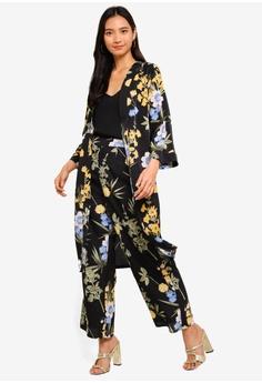 18f776f55682ce 38% OFF ZALORA Folded Sleeves Kimono S$ 39.90 NOW S$ 24.90 Sizes XS S M L XL