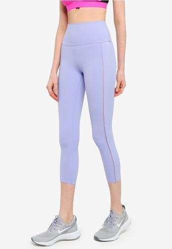 Nike purple Luxe Yoga 7/8 Length Tights 83D36AA745E88EGS_1