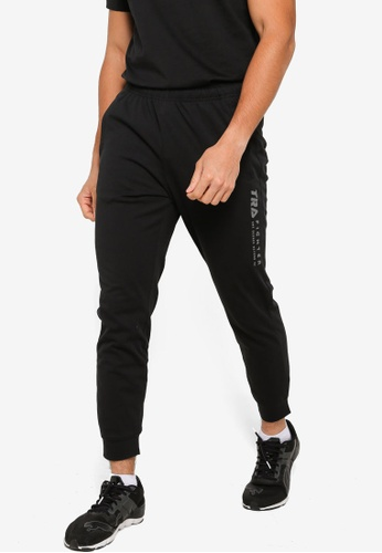 361° black Cross Training Knit Pants A31EAAAA58DE4DGS_1