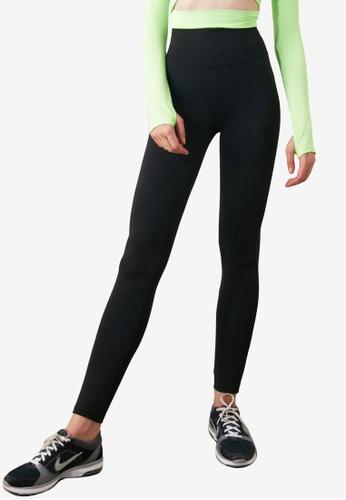 Trendyol black Black Lifting Sports Tights 8CE01AA487753EGS_1