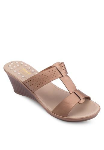 楔型跟esprit sg休閒涼鞋, 女鞋, 楔形涼鞋