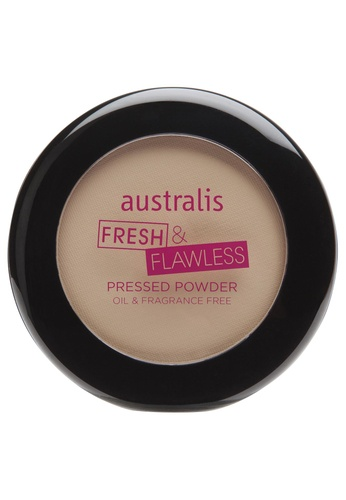 cd2c423a9690 Buy Australis Australis Fresh n Flawless Pressed Powder Deep Natural Online  on ZALORA Singapore