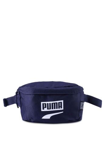PUMA navy Puma Plus Waist Bag Ii F72A3AC152F92CGS_1