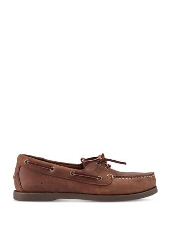 lumberjacks brown Boat Shoes 65E92SH18853A9GS_1