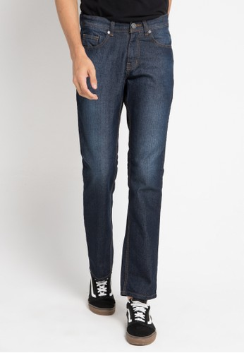 Jimmy Martin navy Celana Jeans Washed 6245DAA960EE09GS_1