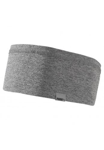 PUMA grey Light Running Headband 00FCFAC0B4165BGS_1