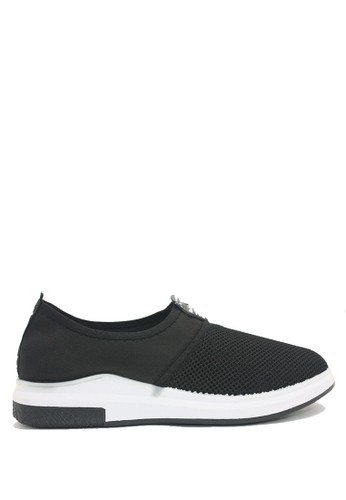 Dr. Kevin black Dr. Kevin Men Sneaker Slip On 13316 - Black DR982SH0VHYKID_1