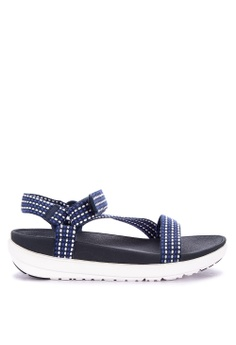 a1b7ed6d2 Fitflop white and blue Z-Strap Sandals 85949SHE41137FGS 1