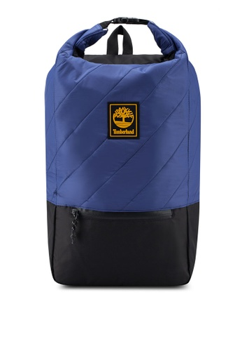 Timberland blue Roll Top 30L Backpack A3E11AC34A983DGS_1