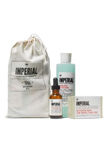 Imperial Barber Imperial Barber Shave Bundle IM040BE35LPKSG_1