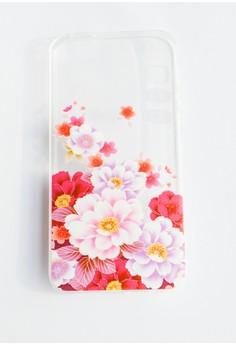 Flower Garden Soft Transparent Case for iPhone 5/5s/SE