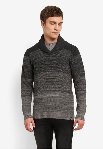 Indicode Jeans grey Hialeah Heavy Knitted High Neck Jumper IN815AA0ROLOMY_1