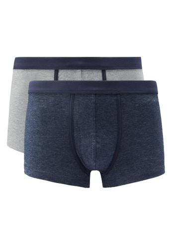 OVS blue Men's Boxer Shorts (Pack of 2) 3067DUS906D24AGS_1