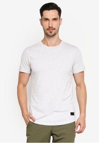 Abercrombie & Fitch grey Solid T-Shirt BBDBCAACF758D5GS_1