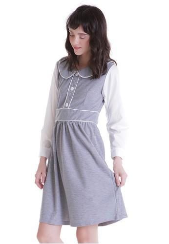 JOYFULIE grey Kathy Dress Grey A8347AAE2882A7GS_1