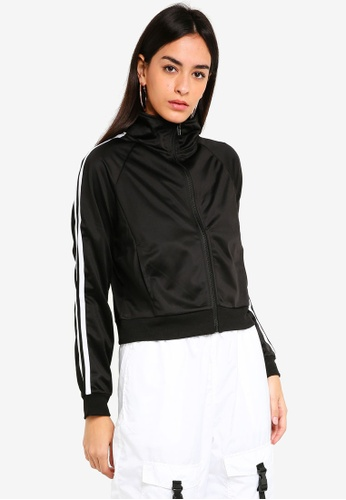 Factorie black Tricot Jacket 453CAAAED6B6F9GS_1