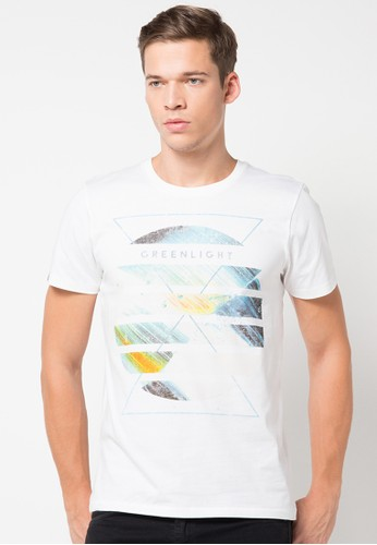 Circle Coloured Basic Tee