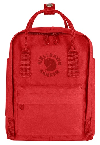 Fjallraven Kanken red Red Re Kanken Mini Backpack 65F18AC988B929GS_1