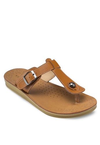 T 字帶夾腳拖鞋, esprit台北門市女鞋, 鞋