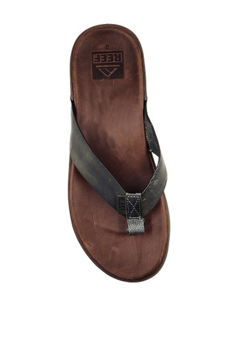 Reef brown CONTOURED VOYAGE LE BROWN/GREY D4C45SHA420A98GS_1