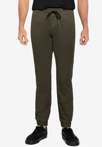 Abercrombie & Fitch green Core Jogger Pants 403CAAA652D442GS_1