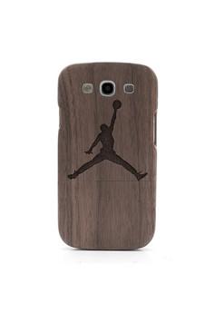 Jordan Design - Genuine Wood Full Cover for Samsung S3