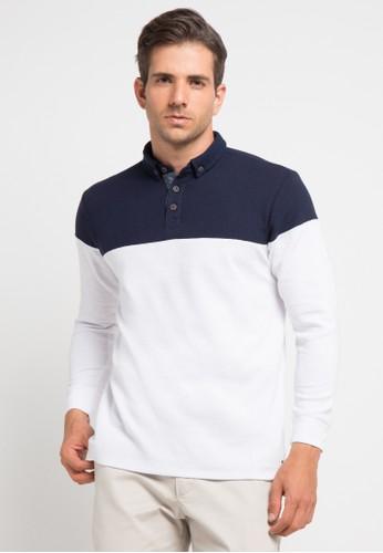 X8 white Drew Polo Shirts X8323AA0V7LDID_1