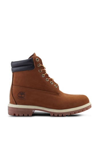 Timberland brown 6 Inch Premium Waterproof Boots 13FABSHBC0E28CGS_1