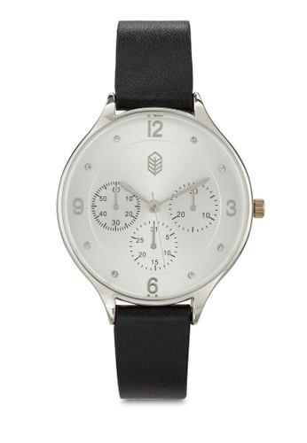 Visome 經典圓框手錶, 錶類, 飾品配esprit門市地址件