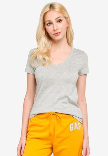 GAP grey Favourite Solid Top 9EA7CAAF46D9BCGS_1