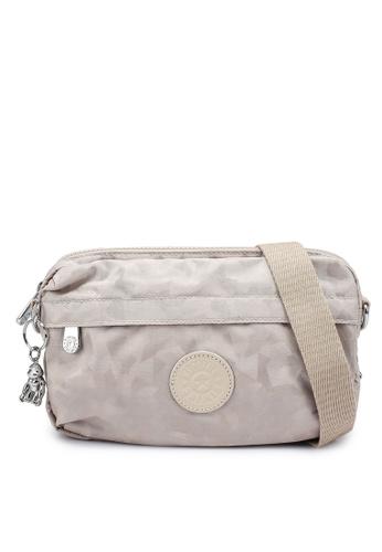 Kipling beige Halima Cloud Crossbody Bag A0018AC285EE47GS_1