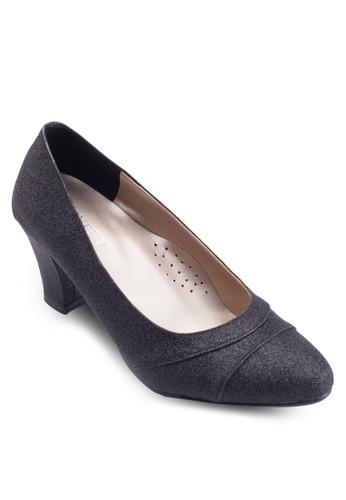 經典方頭粗跟esprit台灣outlet鞋, 女鞋, 鞋