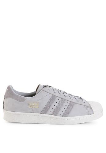 adidas grey adidas originals superstar 80s AD349SH0UM61ID_1