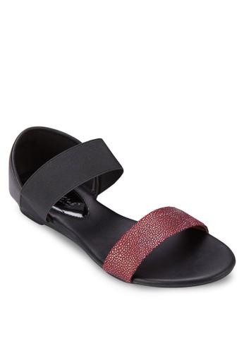 雙色包跟涼zalora 評價鞋, 女鞋, 涼鞋