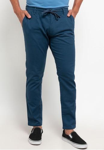 Men's Top blue HULL - BLUE Pants B2F87AA6B2F341GS_1