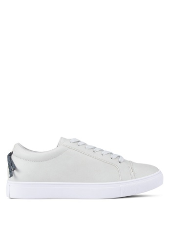ZALORA grey Laced-Up Sneaker 84FDDSH5D7AEA9GS_1