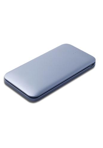 Stylebox silver N-Power NP-1070 10000mAh Slimmest Portable Power Bank 6BA4FACFDF57CDGS_1