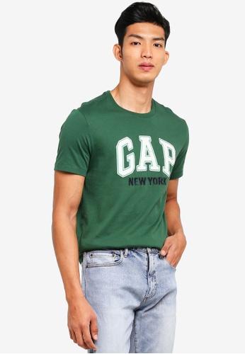 GAP green New York City T-Shirt BB8CBAABA75FDBGS_1