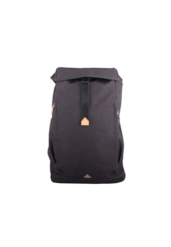 Samuel Ashley black Samuel Ashley York City Backpack - Charcoal 816E2ACEEE58C8GS_1