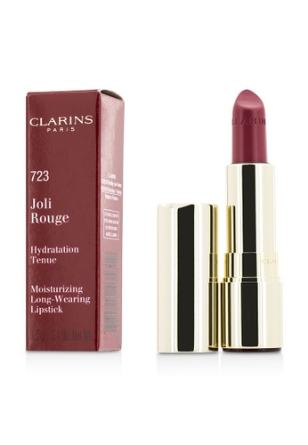 Clarins CLARINS - Joli Rouge (Long Wearing Moisturizing Lipstick) - # 723 Raspberry 3.5g/0.12oz B0E84BE25CF00EGS_1