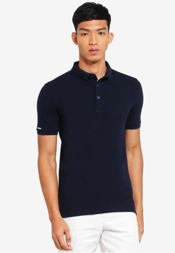 Superdry 海軍藍色 休閒短袖POLO衫 543BAAAAA5AD2CGS_1