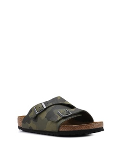ab1ea7d0f50c Birkenstock Zurich Desert Soil Camou Soft Footbed Sandals RM 399.00. Sizes  43