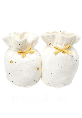 Organic mom beige Dotty Rabbit Socks (FALL/WINTER) 0EF4CKAD1681ABGS_1