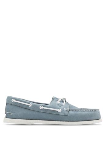 Sperry blue Authentic Original 2-Eye Washable Boat Shoes SP132SH18FQJSG_1