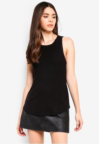 Cotton On black The Girlfriend Tank 01FA0AA2D40017GS_1