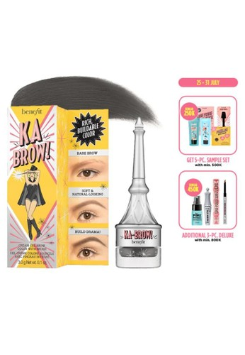 Benefit brown Benefit ka-BROW! Eyebrow Cream-Gel Color - Shade 06 (Deep) 0D29BBEA7C7AE8GS_1