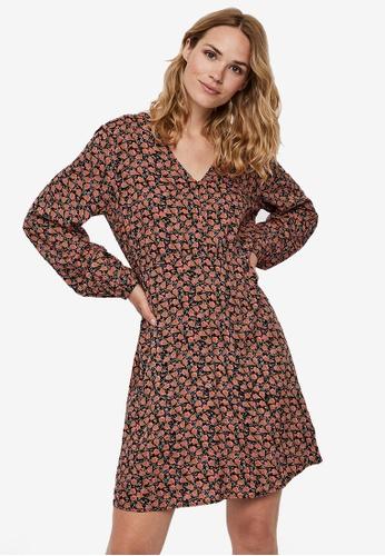 Vero Moda black Milda Mini Dress 22B7AAAC53206EGS_1