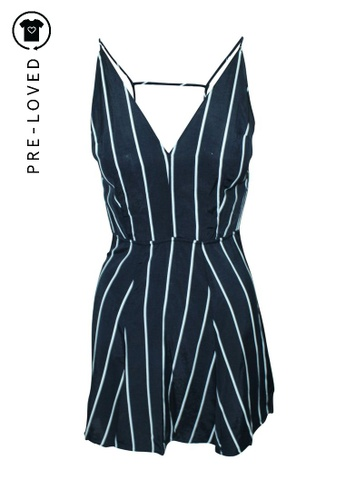 Reformation blue Pre-Loved reformation Stripes Mini Dress FB03EAA85A555DGS_1